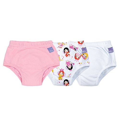 Bambino Mio, Potty Training Pants, Mixed Girl Fairy, 2-3 Years, 3 Pack