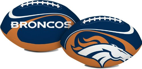 "Jarden Denver Broncos Goal Line 8"" Softee Football by Fotoball"