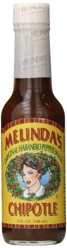 Melinda's Chipotle Habanero Pepper Sauce, 5 Ounce