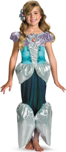 [Ariel Shimmer Deluxe Costume - Extra Small (3T-4T)] (Ariel Costumes Toddler)