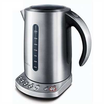 Automatic Shutoff 1.9 qt Stainless Steel Variable Temperature IQ Tea Kettle, French Classic (Breville Tea Kettle Cordless compare prices)