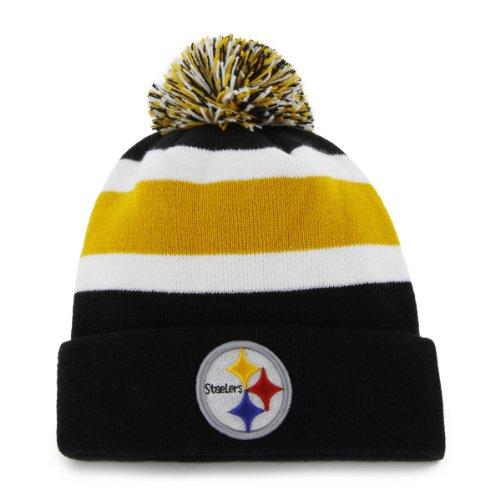 NFL Pittsburgh Steelers Men's Breakaway Knit Cap, One Size, Black]()