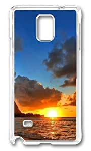 Adorable Landscapes Beach 3 Hard Case Protective Shell Cell Phone Iphone 5C - PC Transparent