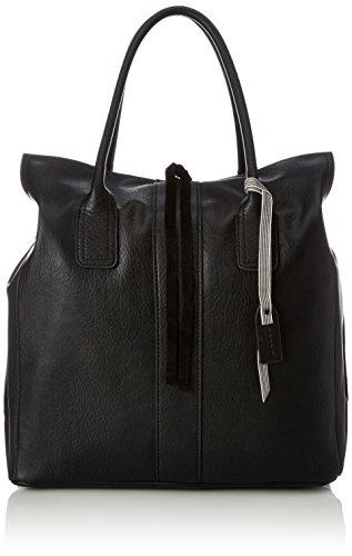 Esprit - 018ea1o022, Bolsos totes Mujer, Negro (Black), 19x28x34 cm (B x H T)