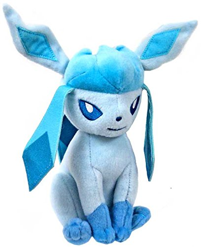 Pokemon TOMY 8 Inch Evolutions Plush Glaceon (8