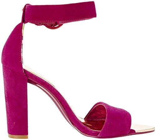 Ted Secoa Women''s Heels Open Baker fuchsia Pink toe r8Fqxrwg