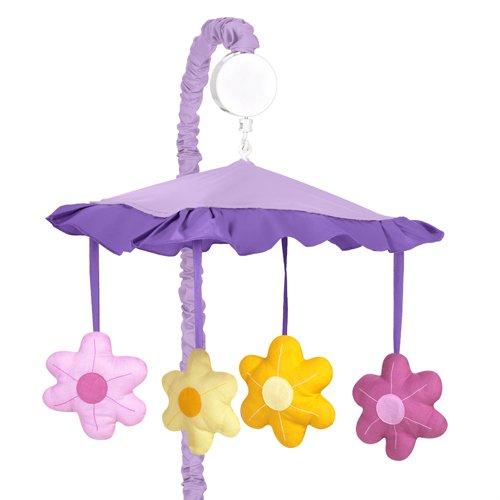 Daisies Crib Danielles (Sweet Jojo Designs Musical Baby Crib Mobile - Danielle's Daisies)