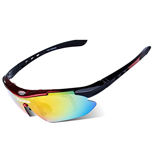 00f06a3650f MOVPE Polarized Sports Sunglasses with 6 Interchangeable Lenses