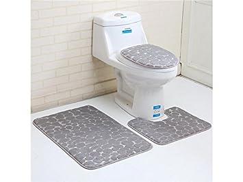 Outstanding Amazon Com Zhisan Bathroom Accessories Bathroom 3Pcs Stone Creativecarmelina Interior Chair Design Creativecarmelinacom