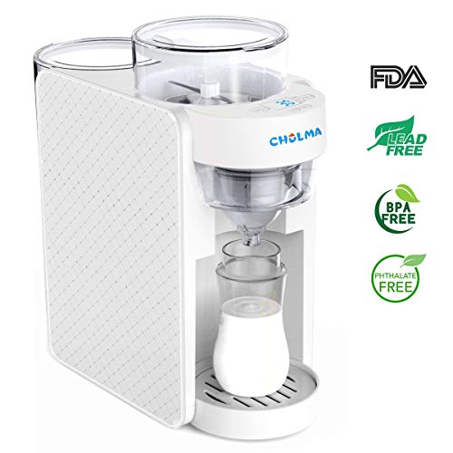 Baby Formula Maker, ZOMOM Instant Heating Automatically Mix Formula Dispenser Machine,Formula Milk Mixer Maker for Baby | BPA-Free Material and UL, FCC, CE, FDA Approved(WLL-1)