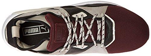 Puma Mens Bog Sock Elemental Fashion Sneaker Wine Tasting/Puma Black