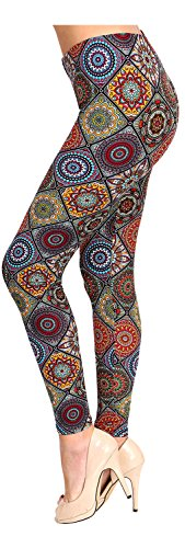 (Regular Size Printed Leggings (Circle of Imagination) )