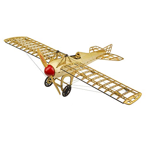 Viloga Wooden Models Deperdussin Monocoque Model Aircraft Construction Kits, Laser Cut Balsa Wood Model Airplane Kits to Build for Adults, Perfect Handcrafted 3D Wooden Puzzles Jigsaw for Home Decor