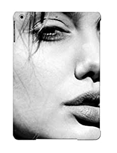 Hot TXRjBKa2998dwLib Case Cover Protector For Ipad Air- Angelina Jolie / Special Gift For Lovers