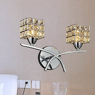 ZQ Creative Wall Sconces Crystal Modern/Contemporary Metal by Wall lamp ZQ