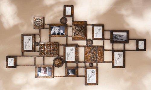 49 modern multiple photo frame hanging wall art sculpture - Multiple Photo Frame