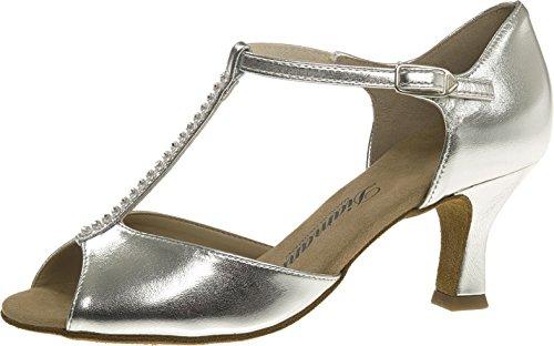 Chaussures 6 013 de Argent Femmes cm 025 Danse 5 Flare Diamant 087 5gTBqn