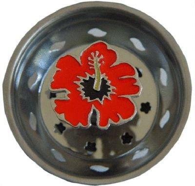 Enamel Kitchen Strainer (Enamel Kitchen Strainer Hibiscus Flower)