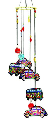 Hippie Car/Love Bus Metal Wind Chime