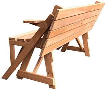 Gardiun KNH1115 - Mesa Picnic Summer de madera convertible en ...