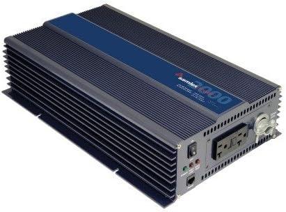 Samlex PST-30S-12E PTS Series Pure Sine Wave DC-AC Power Inverter, 12 Volts, 300W Continuous Power Output, 500W Surge Power Output, 230VAC Output Voltage, Low battery voltage alarm