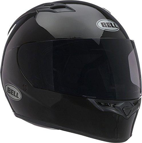 (Bell Unisex (7049229) Solid Black Qualifier Full-Face, D.O.T-Certified Street Helmet-Adult Size M Gloss, Medium)