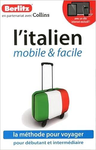 Lire L'italien mobile & facile (1CD audio) pdf, epub