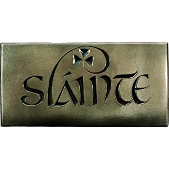 wild goose irish slainte bronze plaque home kitchen. Black Bedroom Furniture Sets. Home Design Ideas