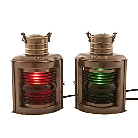 41%2BDMt7enxL._SS450_ Nautical Lanterns and Beach Lanterns