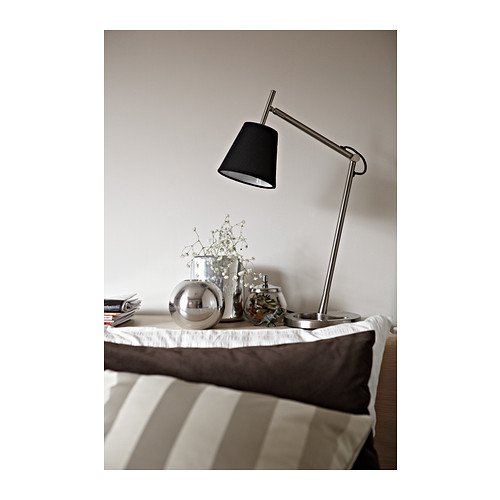 IKEA – NYFORS Work Lamp, Nickel Plated