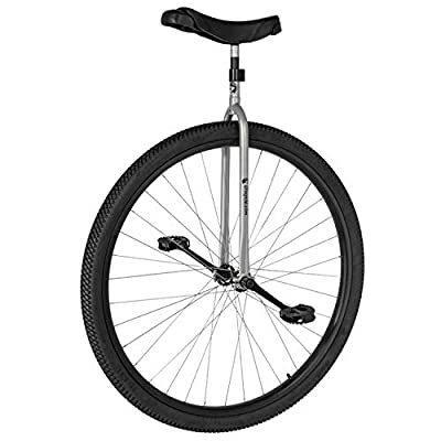 "UDC Titan 36"" Trainer Unicycle - CrMo spindled hub (Grey) : Sports & Outdoors"