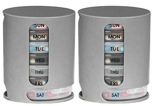 Pill Pro - 2 Pack, Weekly Pill Organizer