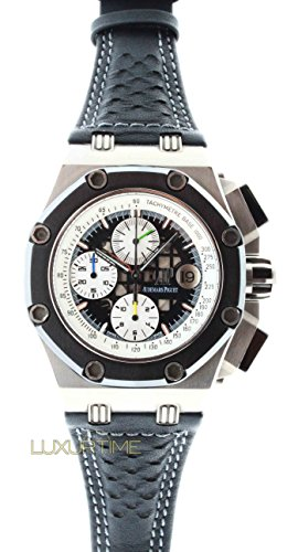 UNUSED Audemars Piguet 26078IO.OO.D001VS.01 Royal Oak Offshore Rubens Barrichello 2 Rare Limited Edition