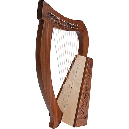 Homeschool Music Baby Harp w/Introduction to Harp Book Bundle + Suzuki Harp School CD, Volume 1 by Homeschooling Harps (Image #1)