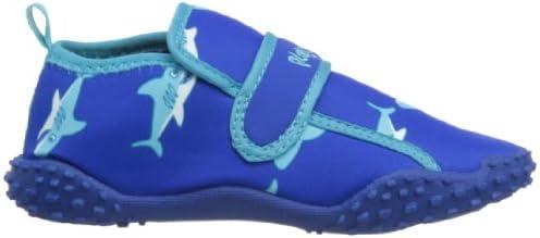 en Bleu Clair pour gar/çons et Filles Taille 21-23 Slipstop Enfants Chaussures de Plage Chaussures de Ballet Anti-d/érapantes Chaussure de Bain Poisson Rouge