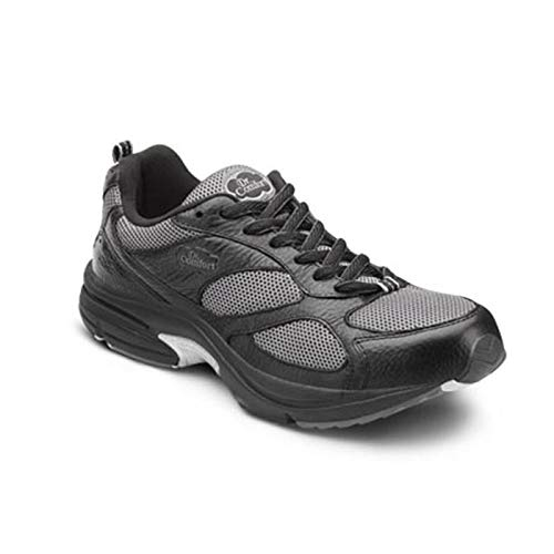 Dr. Comfort Endurance Plus Men's Therapeutic Diabetic Extra Depth Shoe: Black 6 Wide (E/2E)