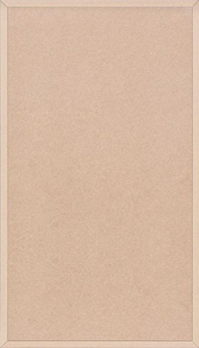 Flat Panel Cabinet Doors (Unfinished MDF Doors, Flat with Edge Detail by Kendor, 28H x 16W)