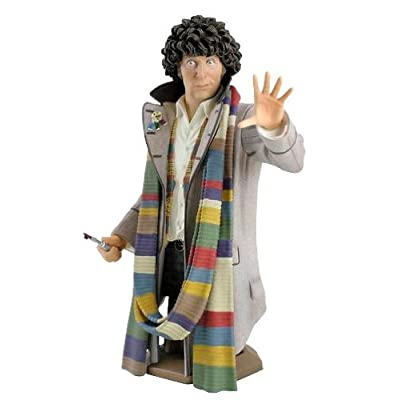 Titan Merchandise Doctor Who: Tom Baker As The Fourth Doctor Mini-Bust: Toys & Games