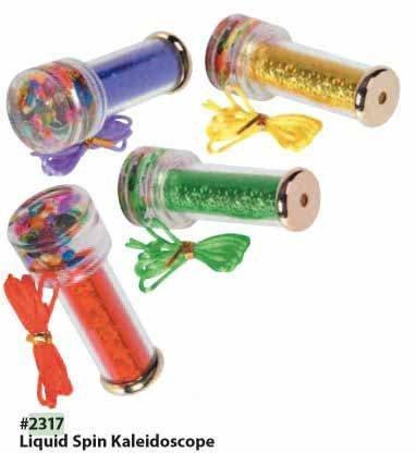 Liquid Kaleidoscope Motion - Toysmith Liquid Spin Kaleidoscope by Toysmith