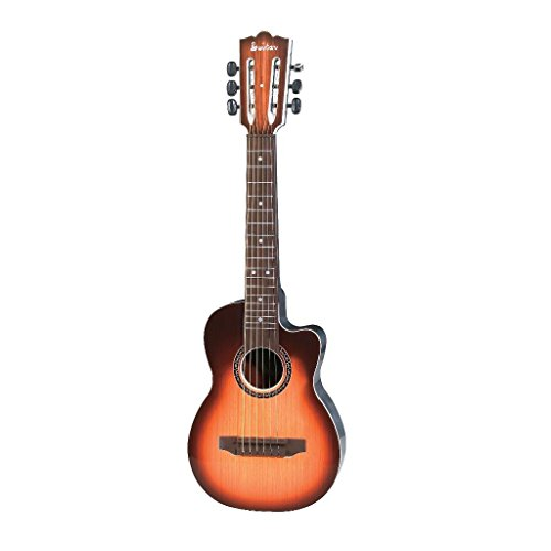 Great Gift Lightahead 27 Inches Junior Folk Guitar with Plucked Metal String