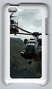 ipod 4 CaseTwo Sikorsky Ch 53 Sea Stallion PC Custom ipod 4 Case Cover White