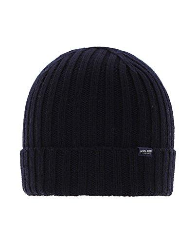 In Blu Woacc1373 Tg Woolrich Wool Cappello Hat Lana L Pura Beenie Uc6WOqIW0