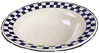 product image for CHECKMATES BLUE SERVING BOWL