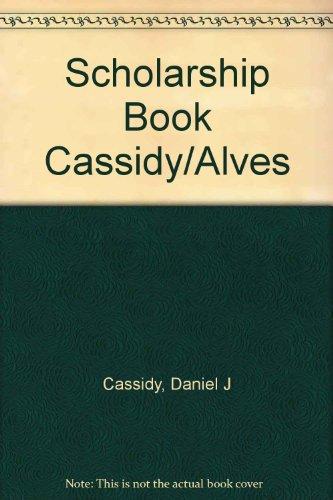 Scholarship Book Cassidy/Alves