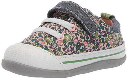 (See Kai Run Girls' Stevie II INF First Walker Shoe, Pink Floral, 3 M US Infant)