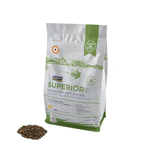 Fish4Dogs Superior Salmon Grain Free Dry Puppy Food 3.3lb Bag Review