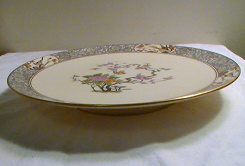 Vintage Lenox Ming Birds China Footed Sandwich Plate