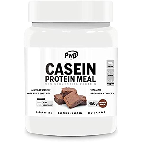 CASEIN PROTEIN MEAL 450gr.(Chocolate Brownie): Amazon ...