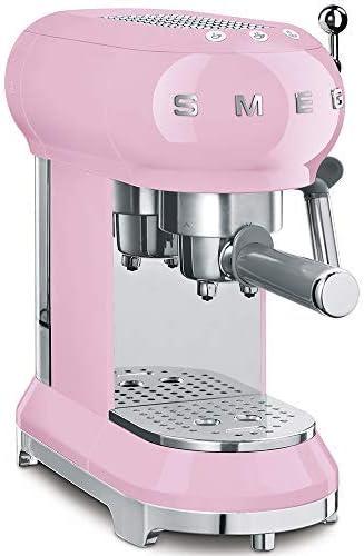 Smeg ECF01PKEU cafetera, Rosa: Amazon.es: Hogar