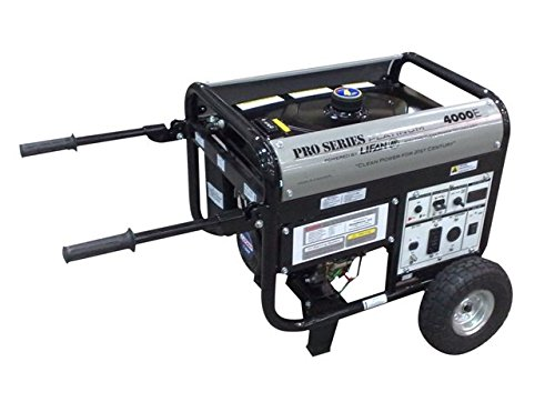 Lifan Platinum Series LF4000EPL-CA 4000 Watt Commerical/Contractor/Rental Grade 7 HP 211cc OHV Gas Powered Portable Generator with Electric Start and Wheel Kit (CARB Certified) Power Pro 3500w Generator